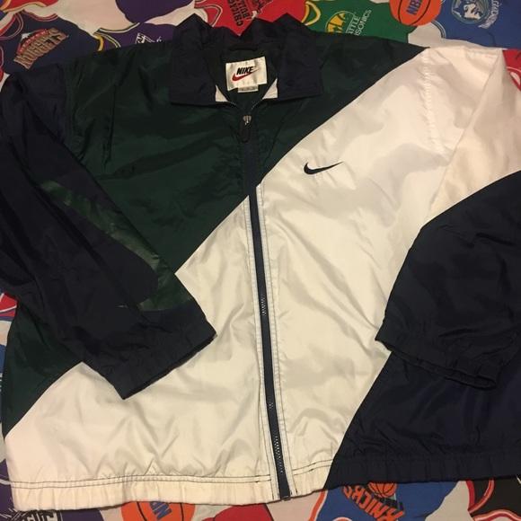 """77138b07e Vintage Nike """"big swoosh"""" windbreaker jacket. M_5a9eea5c31a3766fedb7f60f"""
